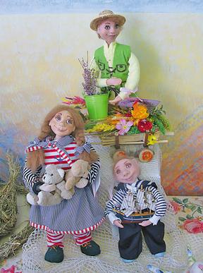 Колекція ляльок Оксани Саганюк з волинського села Жовтневе здобула Гран-прі фестивалю