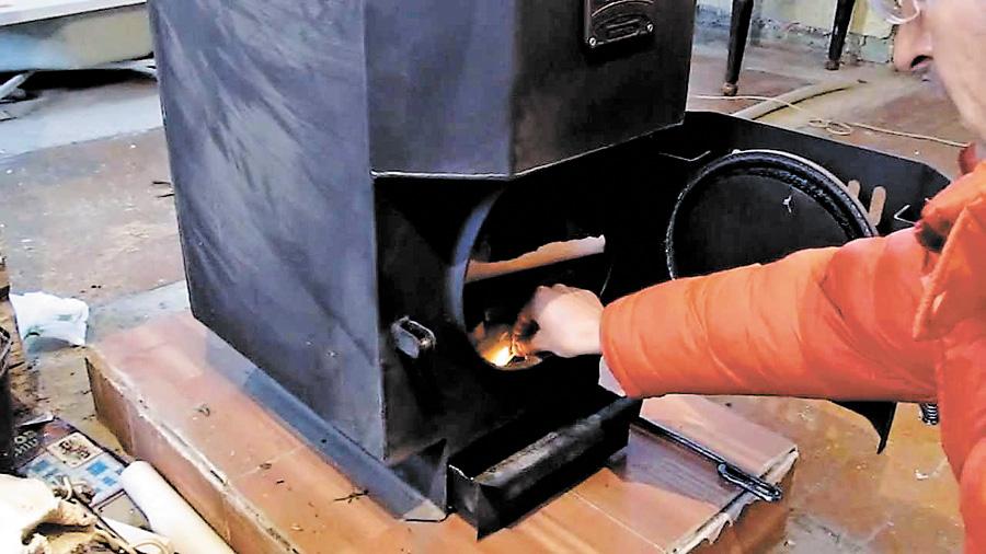 Как сделать длительное горение в печи 129