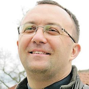 Військовий капелан Олег ЛАНДЮК. Фото з cайту uk.me