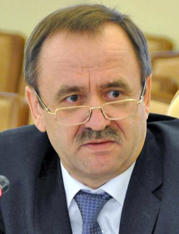 Заступник міністра регіонального розвитку, будівництва та житлово-комунального господарства України В'ячеслав НЕГОДА.