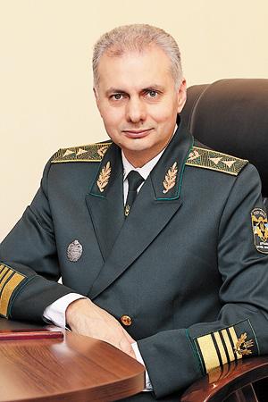 Начальник Полтавського  обласного управління лісового  та мисливського господарства  Юрій ТАРАНЕНКО.