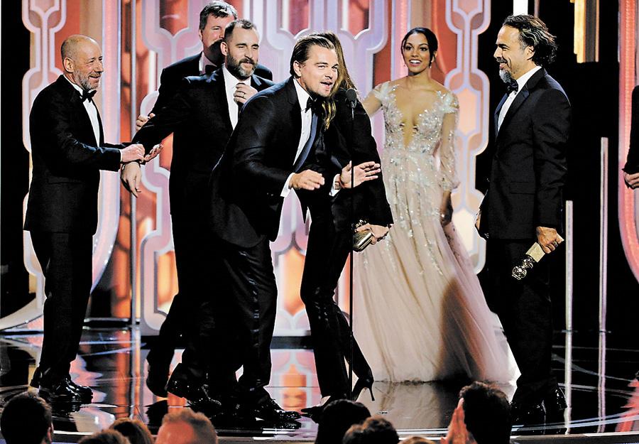 УСША назвали переможців кінопремії «Золотий глобус»