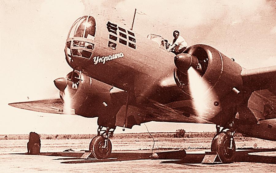 Григорій Кулішенко понад усе любив небо, саме на такому бомбардувальнику літав відважний пілот. Фото з інтернет-ресурсу