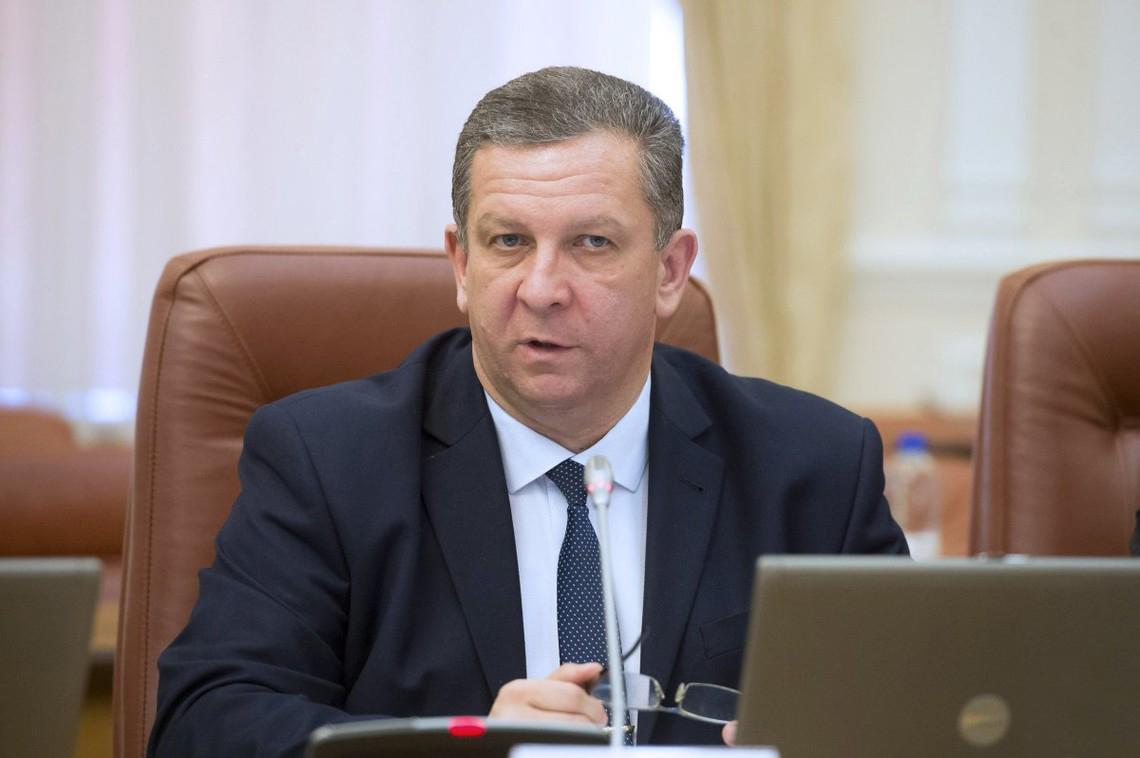 Министр социальной политики Андрей Рева.