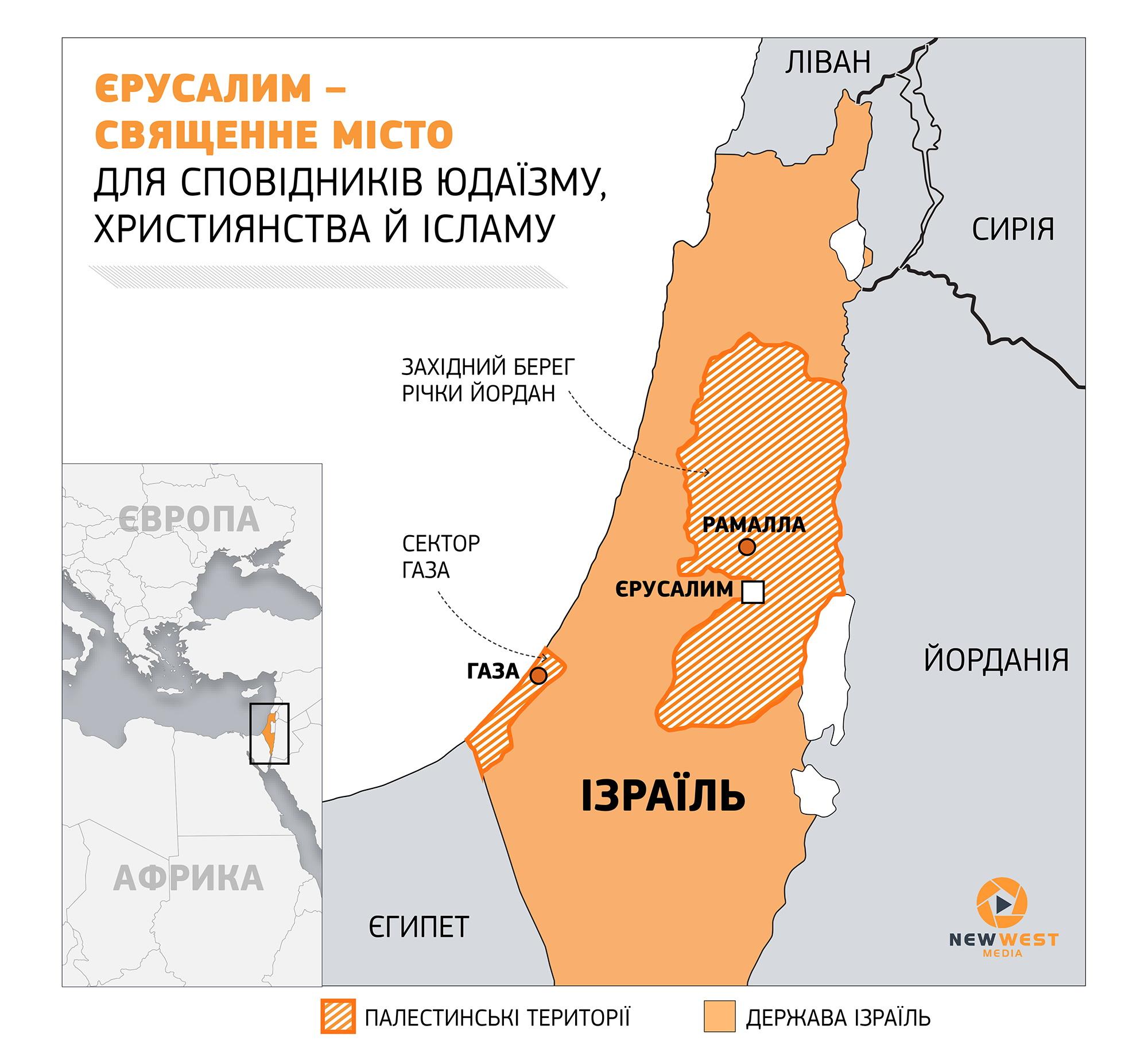 Лідери 57 мусульманських країн готові визнати Східний Єрусалим столицею Палестини