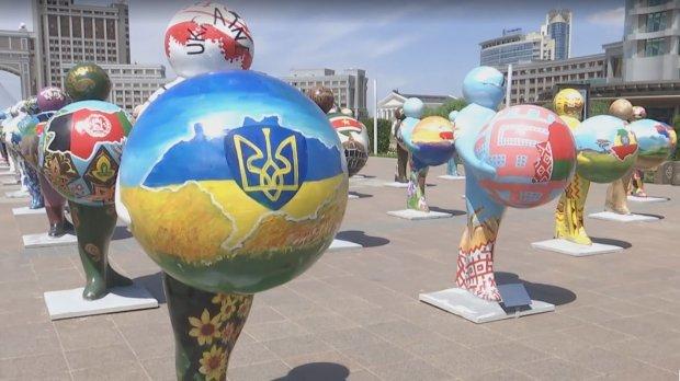 УКазахстані замалювали скандальну карту України без Криму