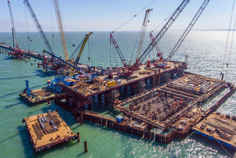 Україна судитиметься зРФ через збитки від будівництва Керченського мосту