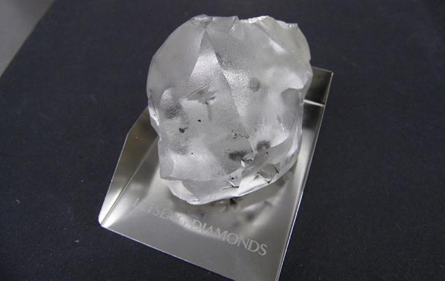 Історичний 910 каратний діамант, знайдений вЛесото