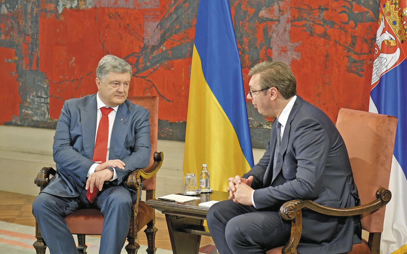 Петро Порошенко та Александр Вучич налагодили особистий контакт і дружній стиль спілкування