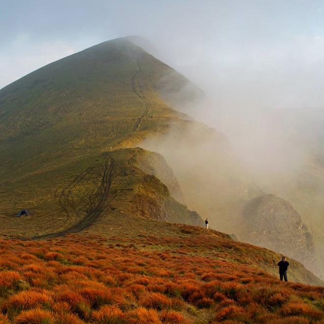 Гірський масив Свидовець — один із наймальовничіших у Карпатах. Фото надав автор
