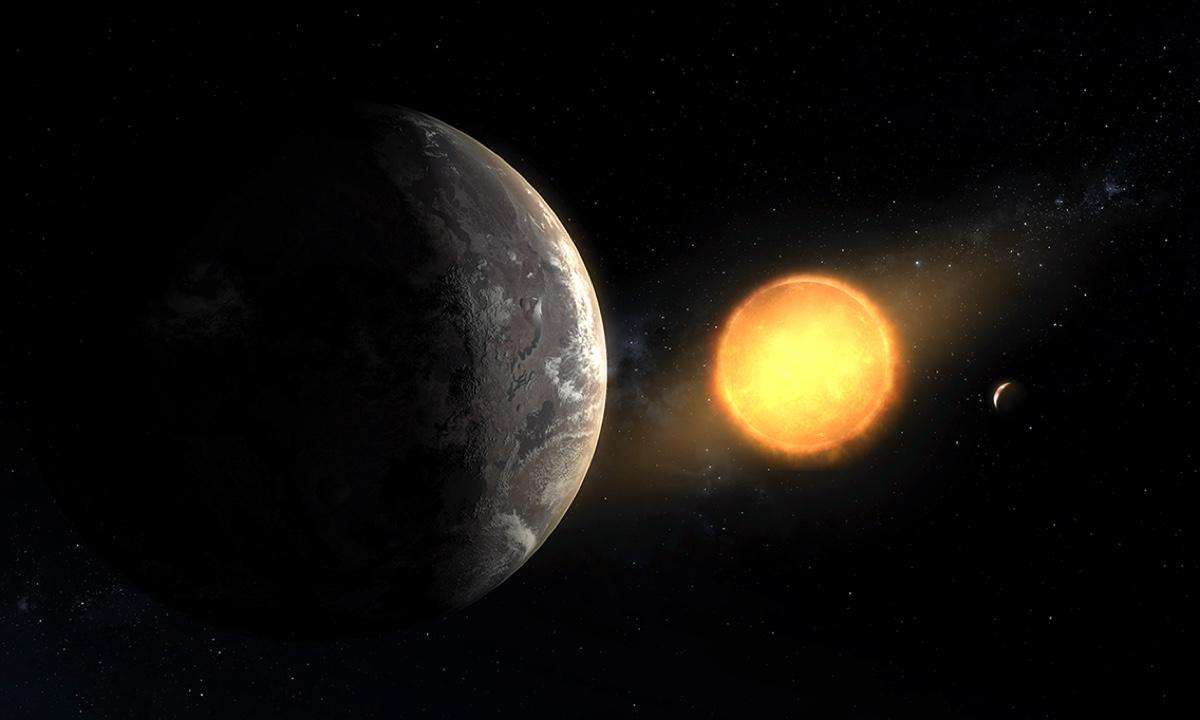 Екзопланета Kepler-1649c: погляд художника / © Daniel Rutter, NASA Ames Research Center