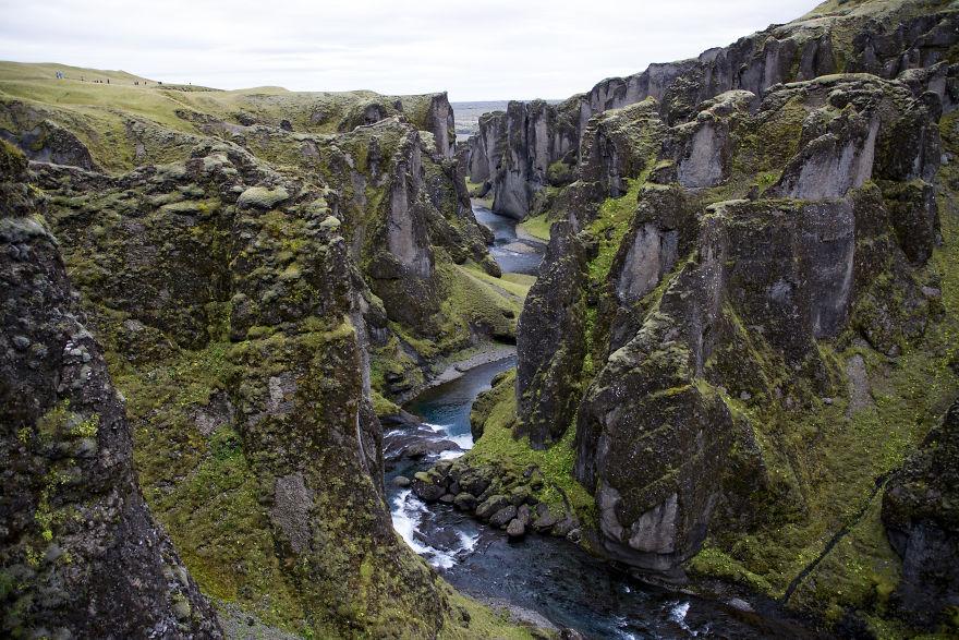 Фьядрарглюфур - найкрасивіший каньйон в світі