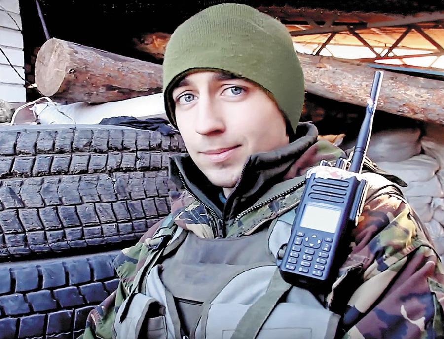 Андрій Кизило з дитинства мріяв бути військовим. Фото надане автором