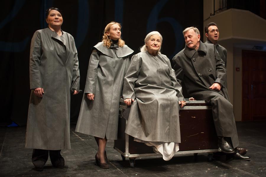 Остання вистава «Таїни буття» відбулася в театрі ім. І. Франка.Фото надане авторои