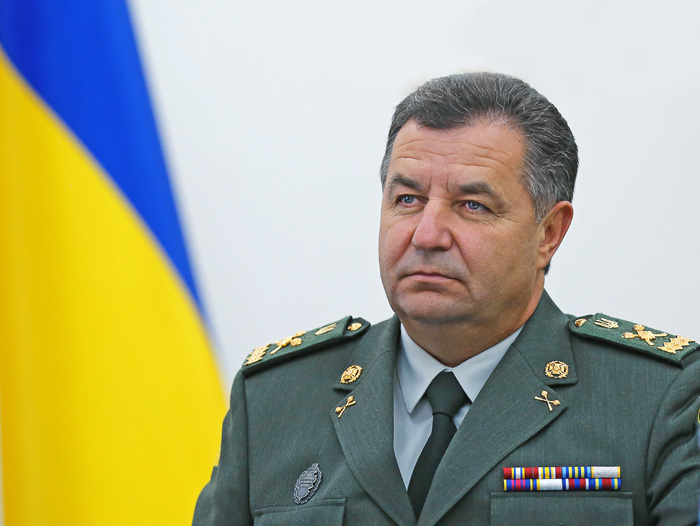 Міністр оборони України Степан Полторак: «Усі «мирні» ініціативи агресора насправді є «шубкою вівці» на тілі «вовка»