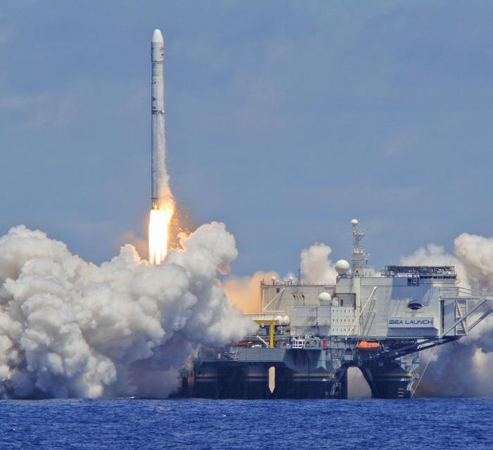 «Морський старт» — найуспішніший космічний проект України за роки незалежності. Фото з сайту uprom.info