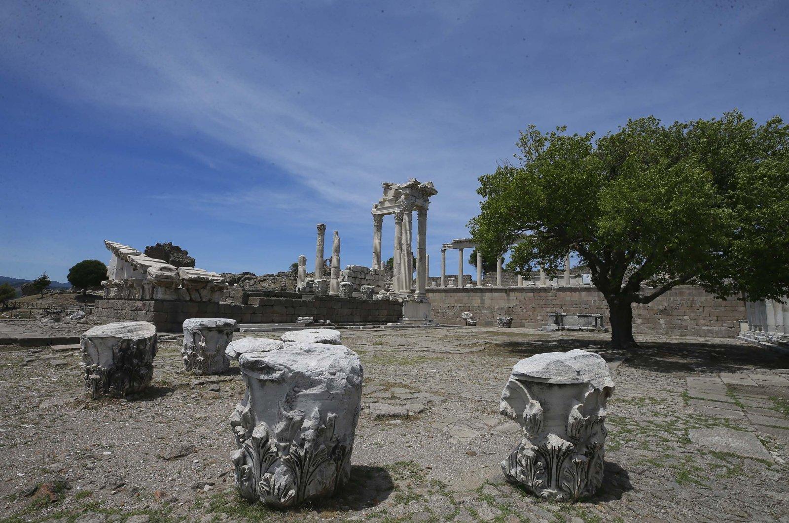 Стародавнє місто Пергам.