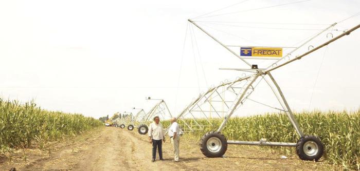 Сталість землеробства в умовах змін клімату дедалі більше залежить від зрошення. Фото надав автор